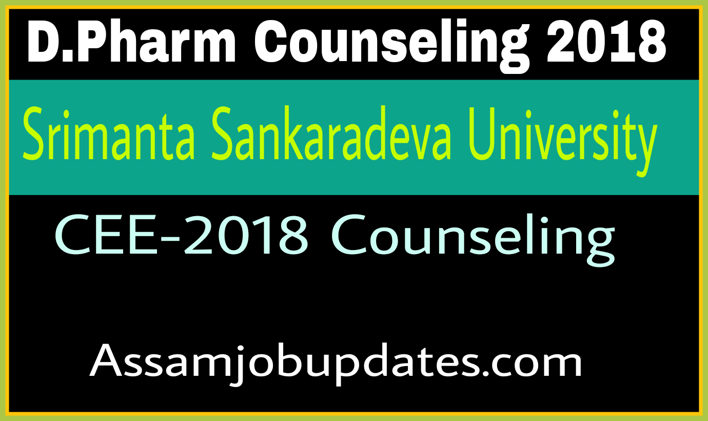 D.Pharm Counseling for Selected Candidate 1st year