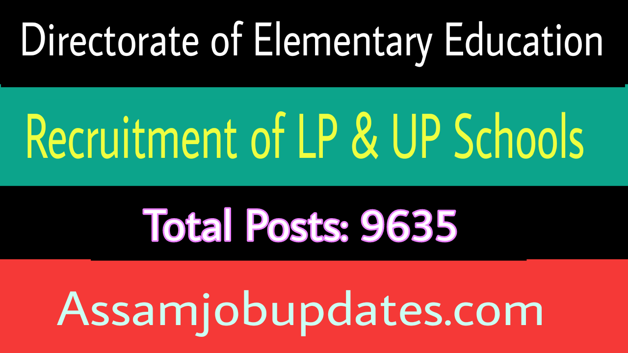 Director of Elementary Education Recruitment 2018-19