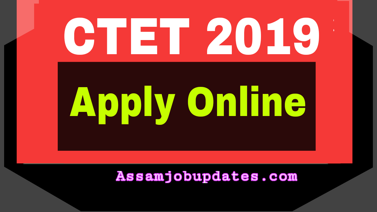 CTET 2019 Online Apply