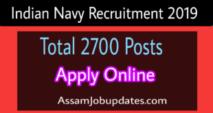Indian Navy Recruitment 2019 Apply Online for 2700 Sailor posts