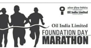 Oil India Limited Foundation Day Marathon 2021