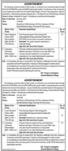 Gauhati Medical college Recruitment 2021